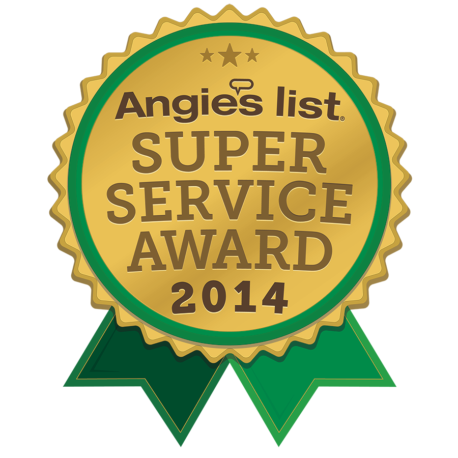 AngiesList 2014 Super Service Award Winner