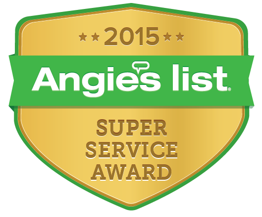 AngiesList 2015 Super Service Award Winner