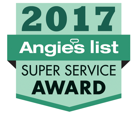 AngiesList 2017 Super Service Award Winner