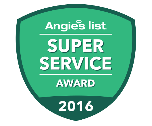 AngiesList 2016 Super Service Award Winner