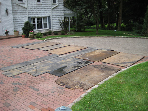 T Riccoboni Asphalt Paving Long Island Big Driveway Job 2