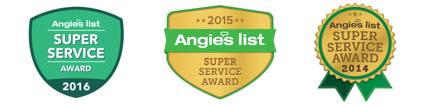 AngiesList Super Service Award Winner